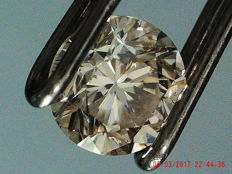Diamond, 0.34 ct, O to P / SI1, GIA.