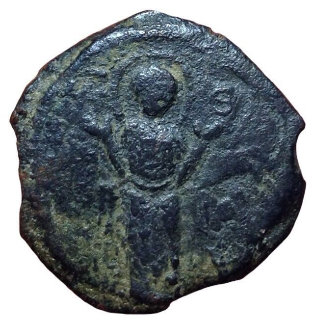 Crusader States - Æ Follis  - 1112/1119 - Principality of Antioch, Roger of Salerno
