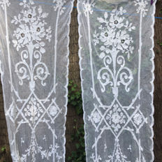 Pair of 19th century curtains