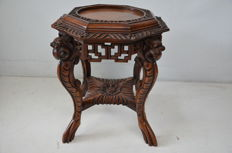 Wooden plant table - China - First half of the 20th century