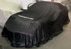 Original PORSCHE INDOOR CAR-COVER