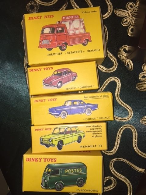 Atlas-Dinky Toys - Scale 1/43 - Lot of 6 models: