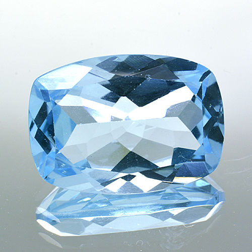 Sky blue topaz – 7.04 ct – No Reserve Price