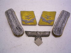 Air force decorations, 3rd Reich, Wehrmacht, Germany, 1940s, aircrew