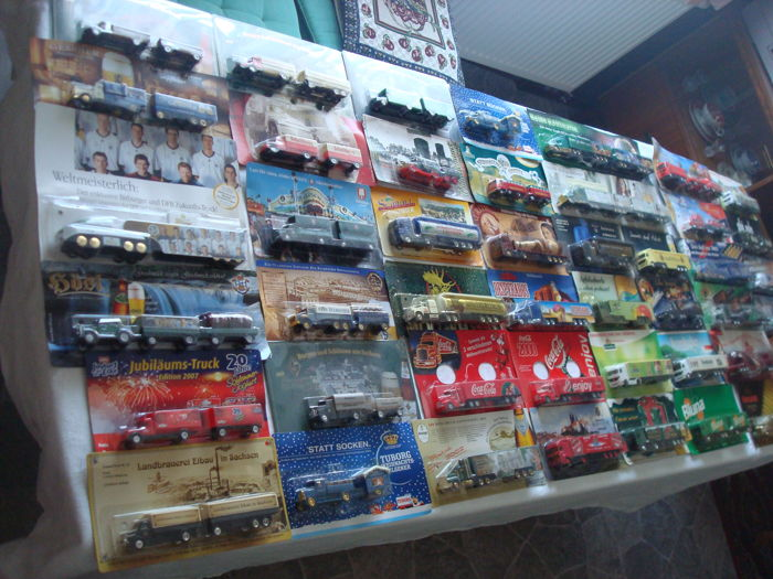 Collection - brewery trucks and advertising trucks, many classic trucks and rarities, 81 pieces