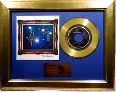 "The Beatles - Strawberry Fields Forever - 7"" Single Parlophone Records golden plated record Special Gold Edition"