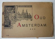 J.F. Haeseker en Co - Oud Amsterdam; with 16 lithographic images - 1883