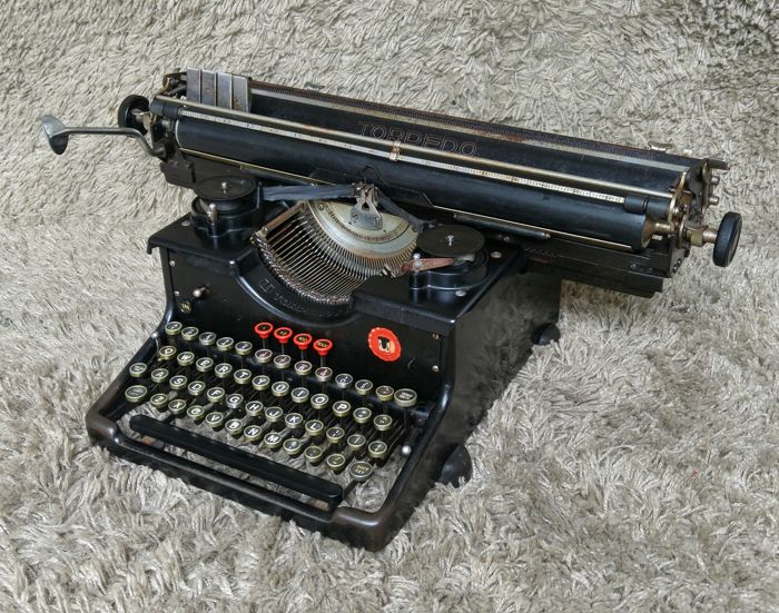 Torpedo 6 - Antique Typewriter - Germany - 1940