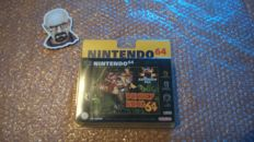 Donkey kong nintendo 64 factory sealed in blister.