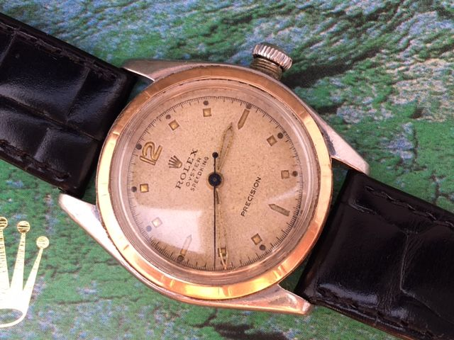 Rolex Oyster Speedking Bubbleback - men's - 1941/1942
