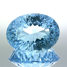 Swiss Blue Topaz – 17.18 ct