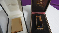 High end  gold Dupont  + Colibri Gold and black Chinese lacquer + gas filling Dupongaz