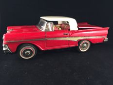 "Kosuge, Japan - Length 23 cm - Tin ""Ford Skyliner Convertible"", 1950s"