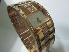 Dolce & Gabbana Women's D&G Golden Time 18 kt gold-plated with Swarovski – NO RESERVE