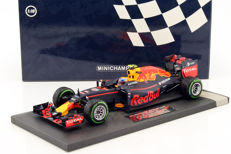 Minichamps - Scale 1/18 - Red Bull Racing TAG Heuer RB12 M. Verstappen 3rd Place Brazilian GP 2016