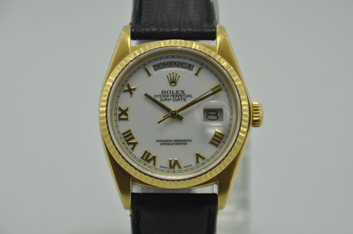 Rolex Oyster Perpetual Day-Date 18K Gold Ref. 18038 - Men's Watch