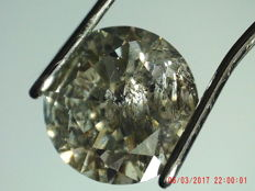 Diamond 1.23 ct Fancy Gray I3