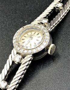 Longines bejewelled wristwatch, 1960s