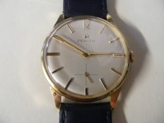 ZENITH Stellina ultra slim men's watch from the '50s – 18 kt rose gold