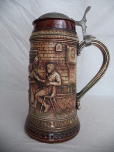 Vintage Beer Stein (beer mug) of the GERZ company