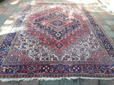Olde Hand-knotted persian rug 256x 355 cm