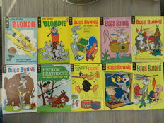 King Comics & Gold Key Classic Comics Set: Blondie, Bugs Bunny, Little Lulu, Tom & Jerry, Woody Woodpecker + More - 20x sc (1962-1972)