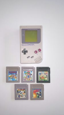 Nintendo Classic Gameboy including 5 games