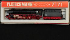 Fleischmann N - 7171 - Steam locomotive with tender BR012 of the DB