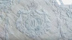 Embroidered Handkerchief with Royal M