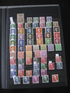 France 1938-1959 - Collection of stamps.