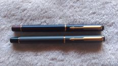 Parker 88 pens - Nib and gold finishes - permanent ink - vintage