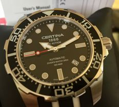 Certina Action steel/rubber, automatic, NEW, Professional diver.