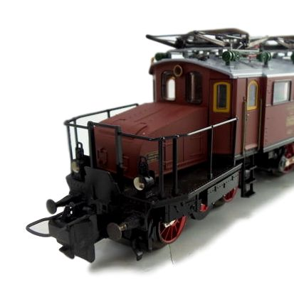 Trix Express H0 - 32235 - Special edition - Electric locomotive BR EG 2 of the DRG in luxury wooden case.