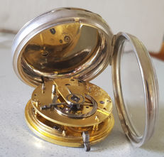 19. Richard Cripps - open face pocket watch Duplex - England 1819
