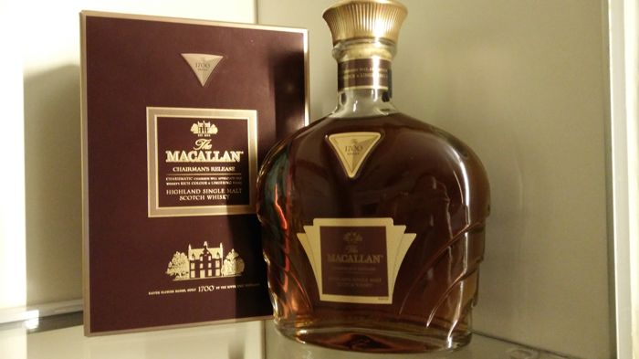 The Macallan The 1700 Serie Chairman's Release Limited Edition Single Malt Scotch Whisky,