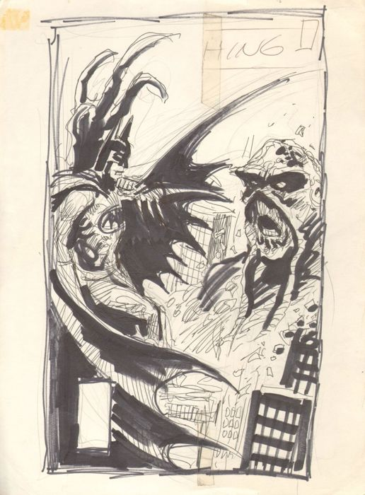 Swamp Thing #53 - prelim cover - First edition - (1986)