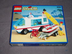 Lego City / Town - 6351 - Surf N' Sail Camper