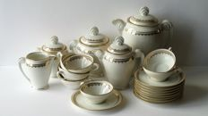 Dicam - Emaux de Limoges - Art Deco tea/coffee set