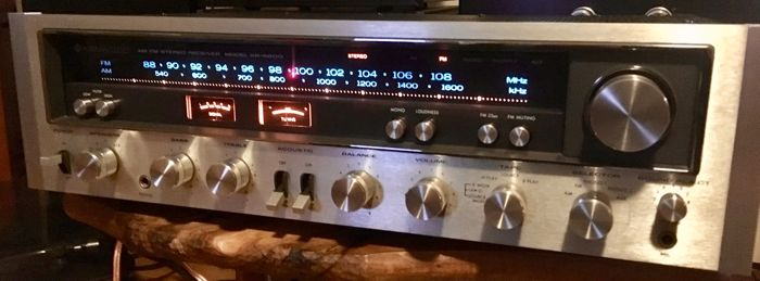 Kenwood KR-6600 receiver in very good condition: produces a beautiful  VINTAGE sound and receives excellently - Catawiki
