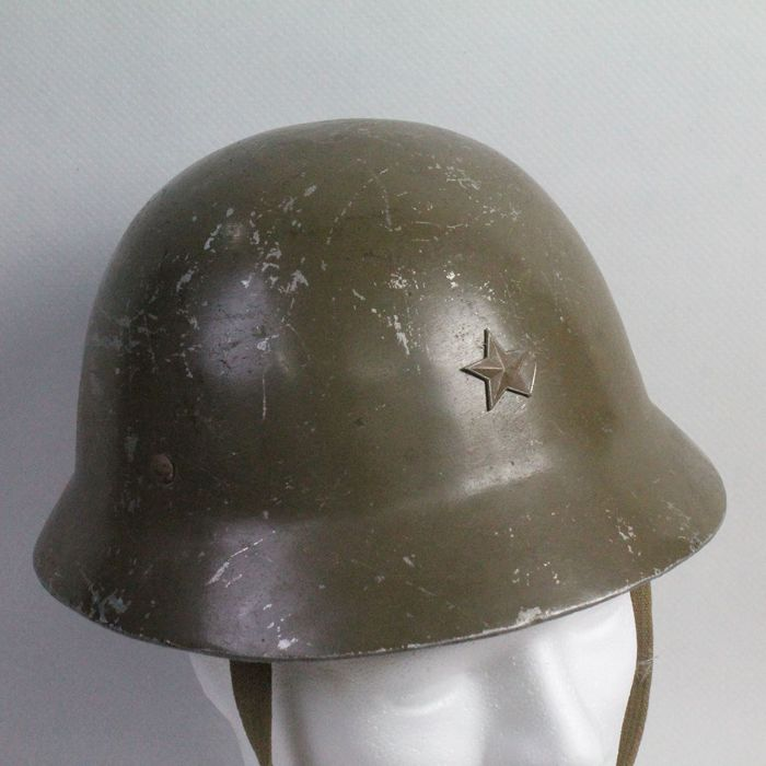 Japanese Helmet 18 model rare version in thick aluminium.