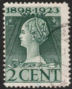 The Netherlands 1923 – Queen's jubilee – NVPH 121