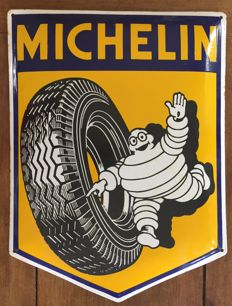 Michelin - Authentic enamelled sign -  ca. 1960