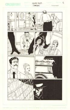 Original Art Page By Steve McNiven And T. Simmons - CrossGen Comics - Archard's Agents #3 - Page 5 - (2004)
