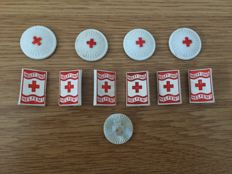 Set of 30 Winterhilfswerk badges and four party event badges