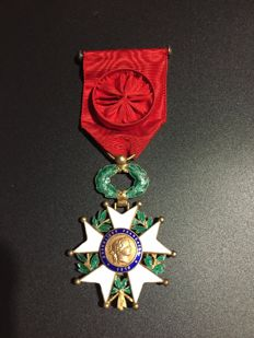 "Medal of the Legion of Honor of France of 1870 & ""Médaille de la Famille"" (Family Medal)"