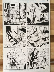 Original Art Page By Rod Whigham - Marvel Comics - Men in Black: Alien in New York #1 - Page 10 - (1997)