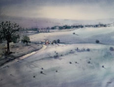 Paco Campos - Cold morning landscape