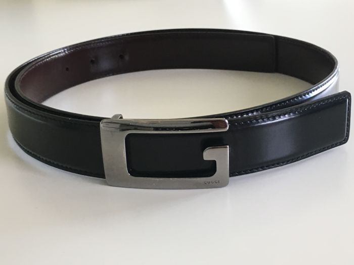 Gucci - Belt with G buckle