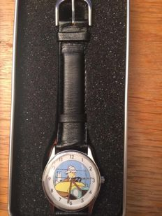 Hergé - Montre Citime - Tintin au Congo - collection Globe-Trotter - (1994)