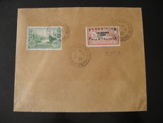 France 1929 – Le Havre Philatelic Exhibition on an envelope signed Calves – Yvert no. 257A.